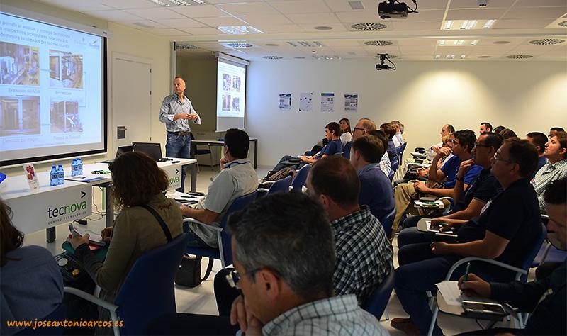Las charlas de Seminis se han desarrollado en el edificio Tecnova, en el PITA.