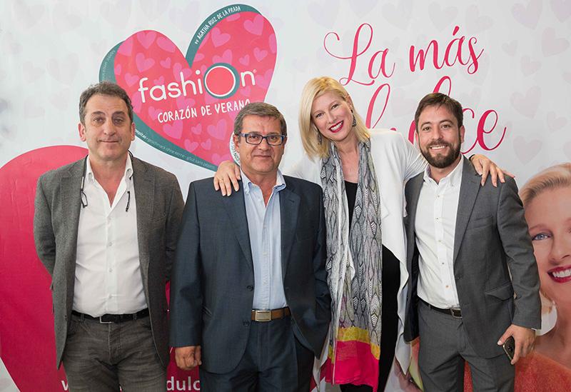 Anne Igartiburu es la nueva imagen de Sandía Fashion