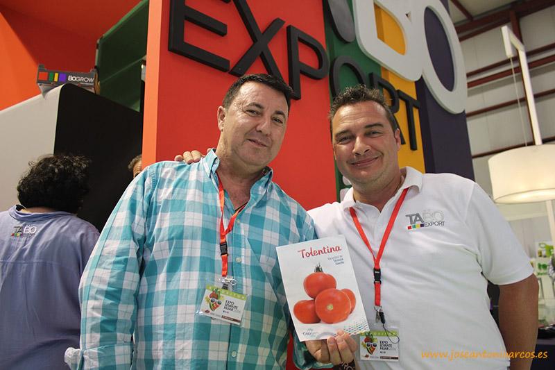 CapGen Seeds lanza para TABO Export un tomate en exclusiva