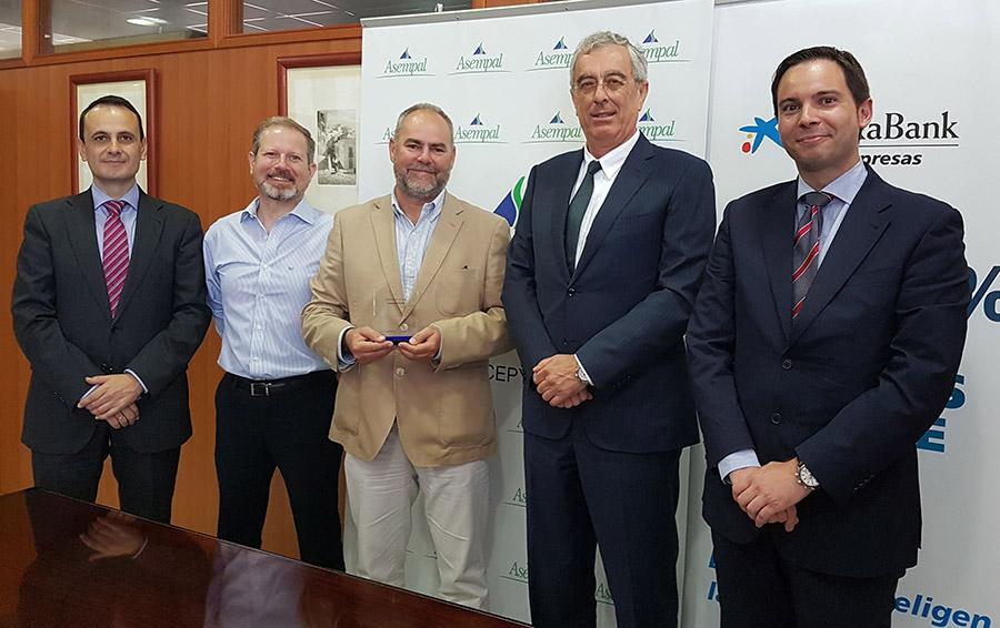 Asempal, CEOE, Koppert, control biológico, Caixabank, premios innovación