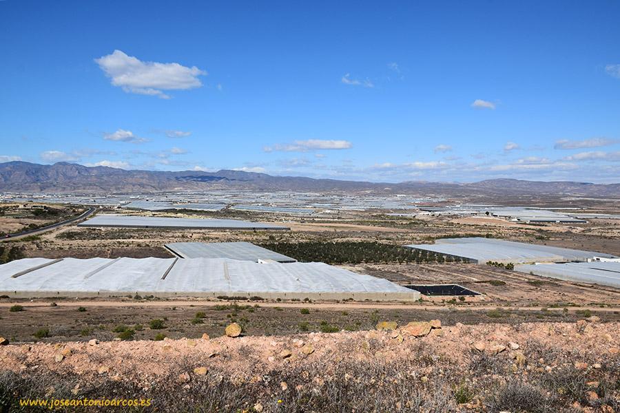 Campo de Níjar, en el Levante almeriense.