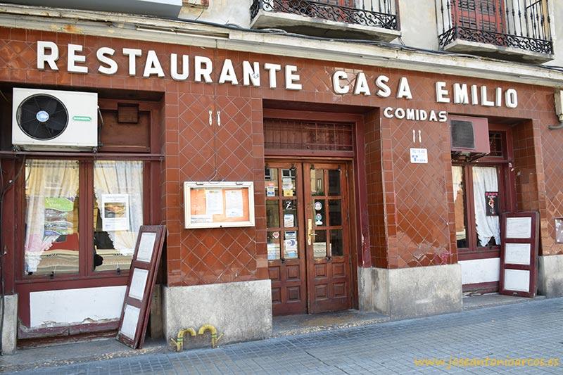 Restaurante Casa Emilio en Zaragoza