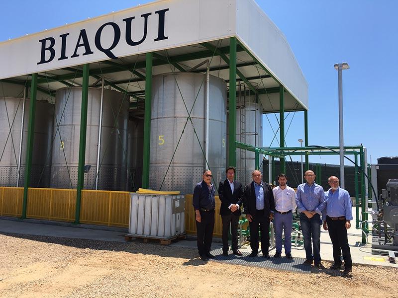 Inaugurada hoy la planta de lixiviados de El Ejido