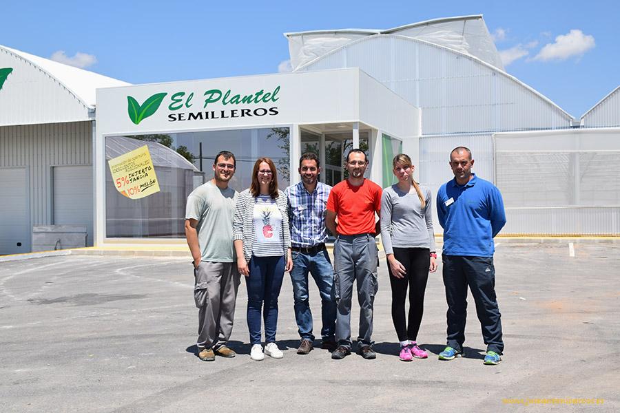 Piel de sapo y sandía en el centro abierto por El Plantel en La Mancha