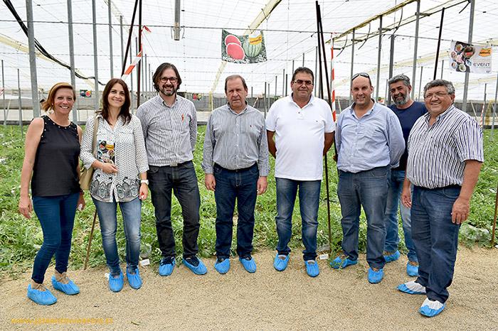 Responsables del Grupo Femago en la jornada Business Event for Experts de sandía.