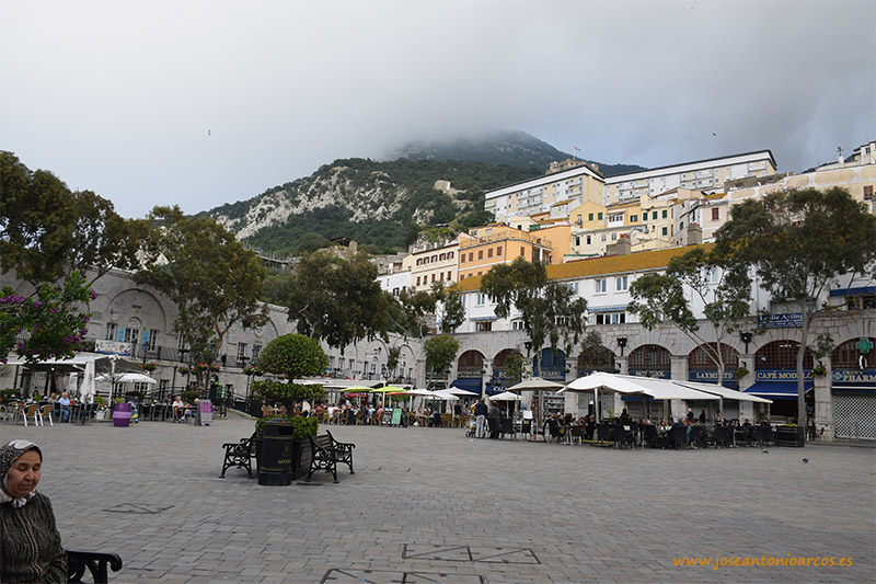 Plaza principal de Gilbraltar