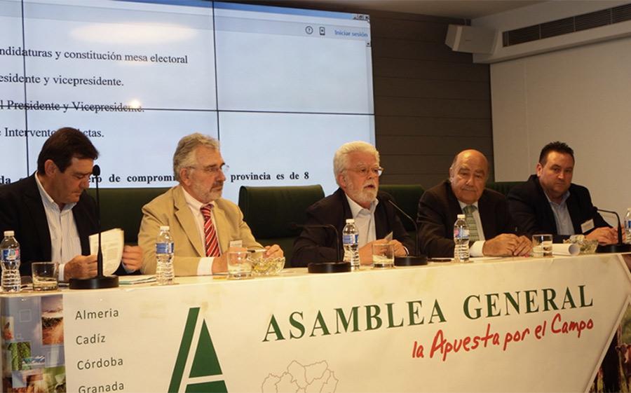 El almeriense Vargas repite vicepresidencia en Asaja-Andalucía