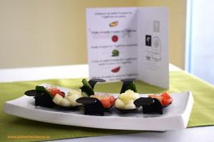 Caviar de melón y sandía