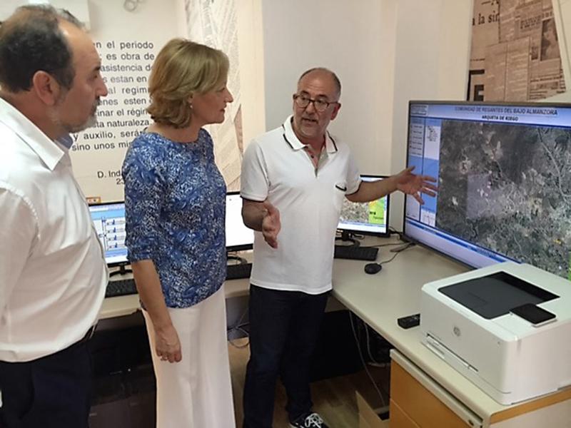 La nueva red del Bajo Almanzora acaba con las pérdidas de agua