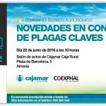 Día 22 de junio. Jornada 'Novedades en control de plagas claves'. Almería