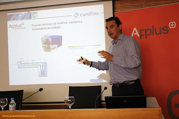Francisco García Torroglosa, jefe de ventas Eurofins.