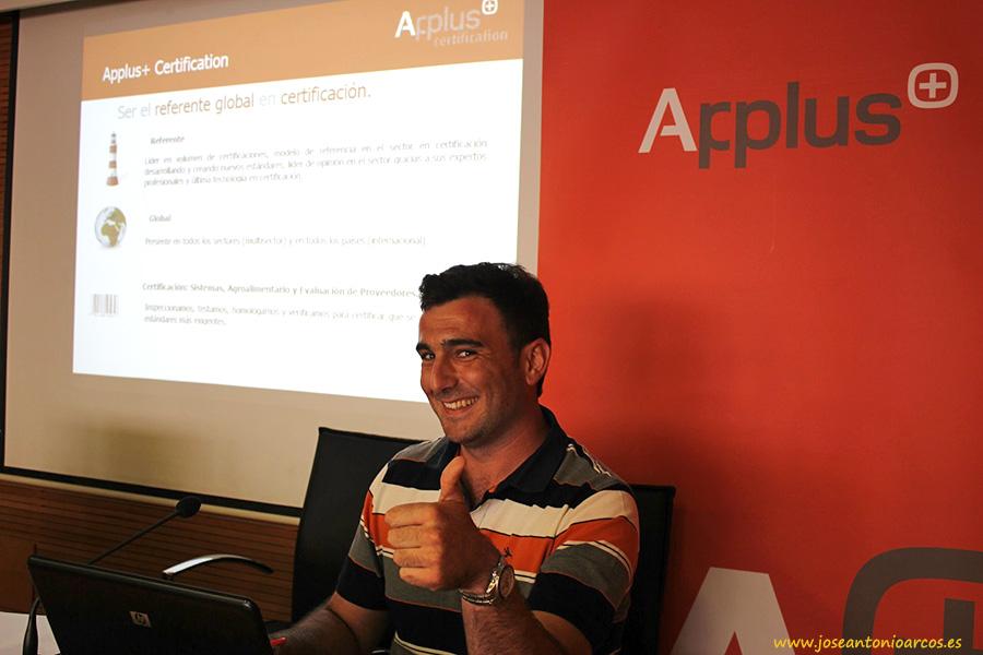 Manuel Robles, auditor Applus +.