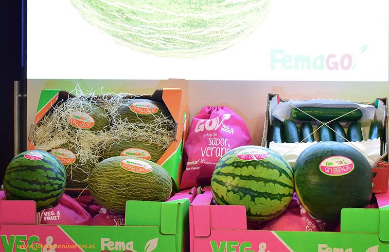 Presentación de la nueva marca gourmet de melón y sandía del Grupo Femago.