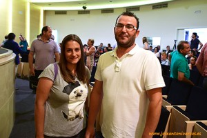 Mercedes Cánovas y Antonio Ortega, técnicos de Perichán.
