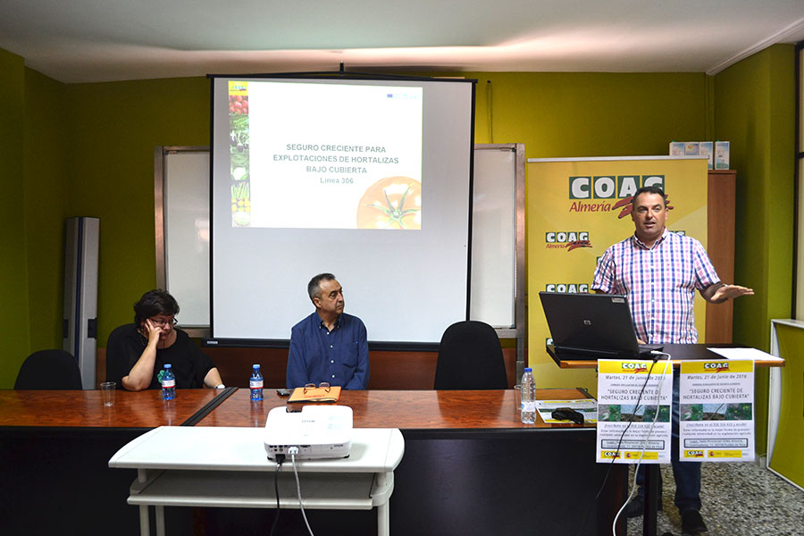 Coag celebra una jornada para aclarar dudas sobre los seguros agrarios