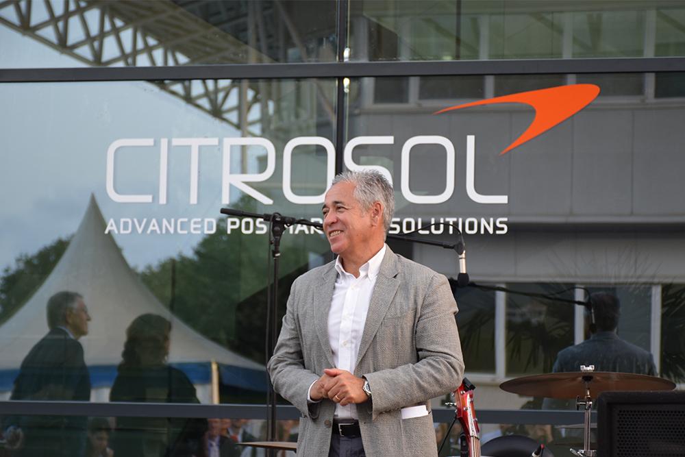 Benito Orihuel es Director General y Director Científico de Citrosol