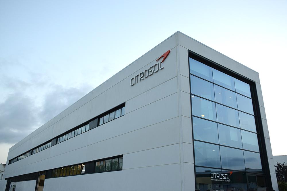 Fachada del nuevo Centro de Tecnología Postcosecha de Citrosol.