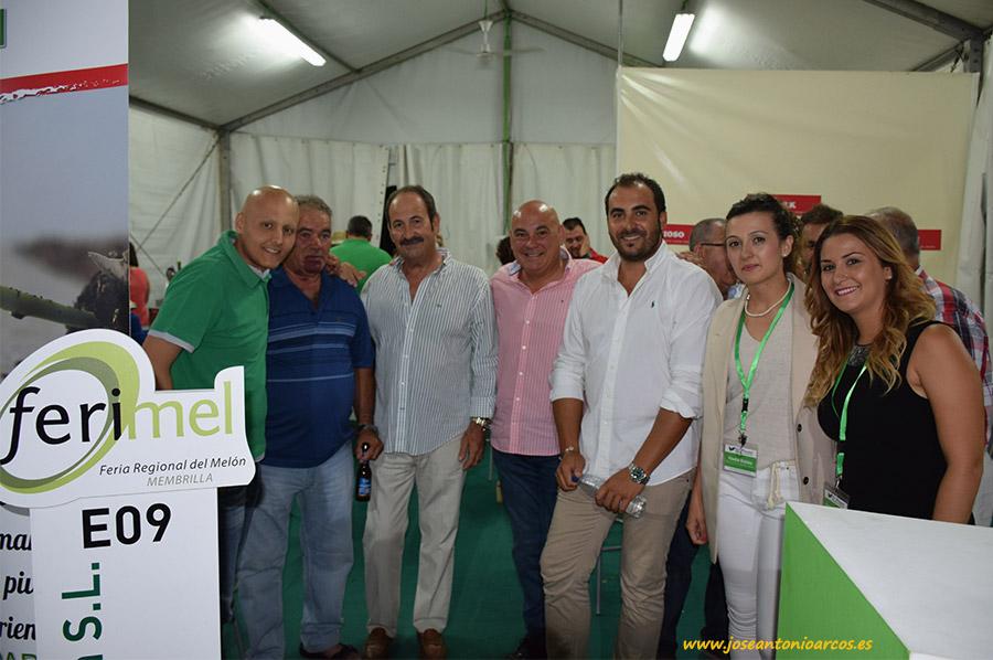 El Plantel en la feria del melón de Membrilla 2016.