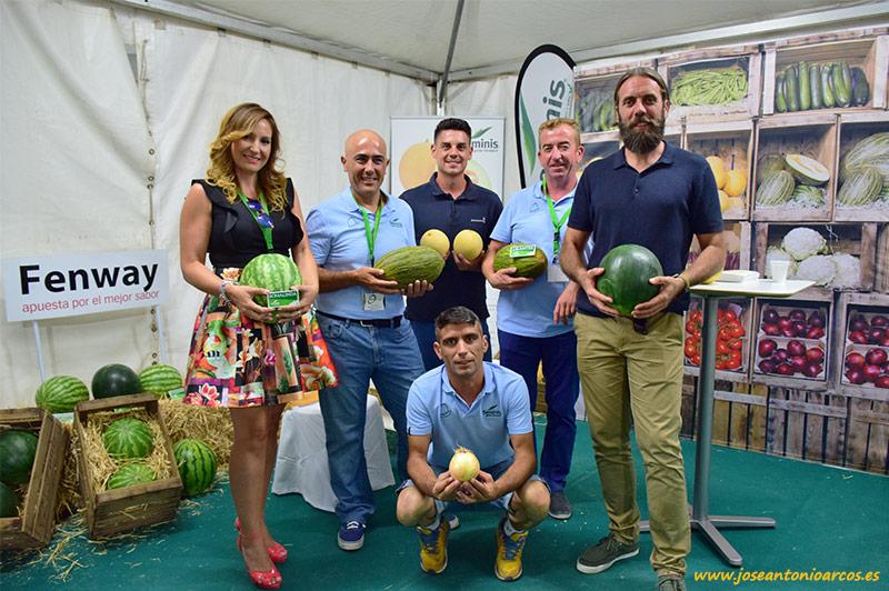 Foto de familia del equipo de Seminis presente en Ferimel 2016.