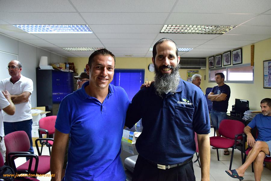 Lorenzo Montoya (Pelemix) y Yaniv Kitron (EdenShield).