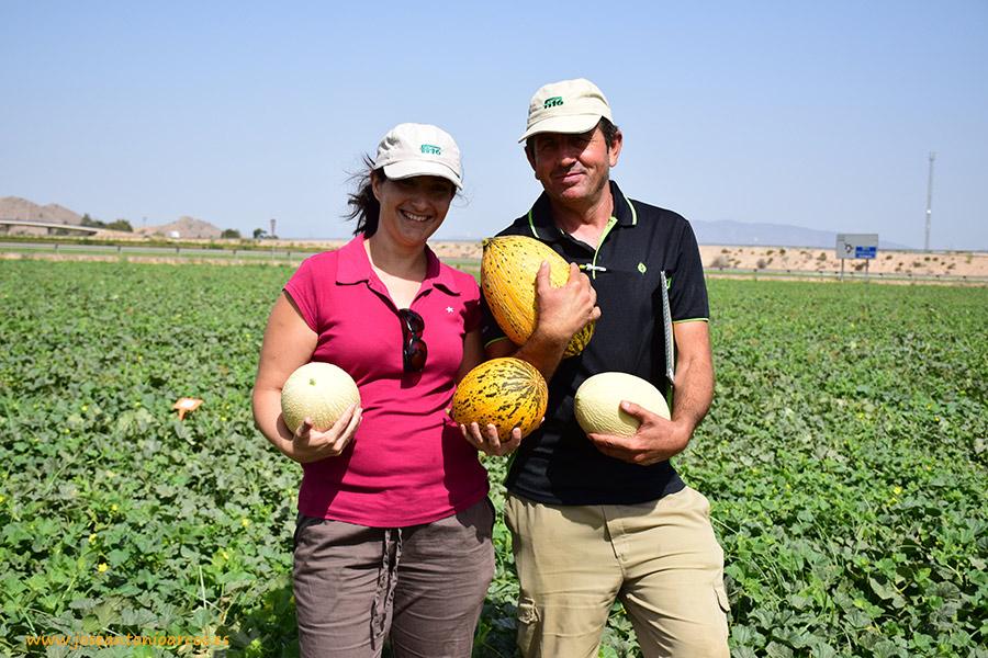 Los melones que comen en Portugal y Turquía. Branco y Kirkagaç