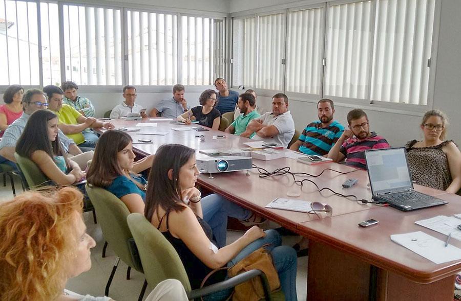 En la cordobesa Pozoblanco se dan charlas de producción ecológica