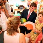 Ruiz de la Prada une moda y Sandía Fashion en su tienda de Madrid