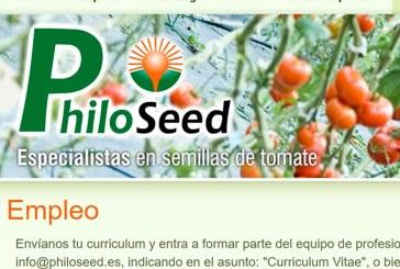 Philoseed España busca técnico comercial. Almería
