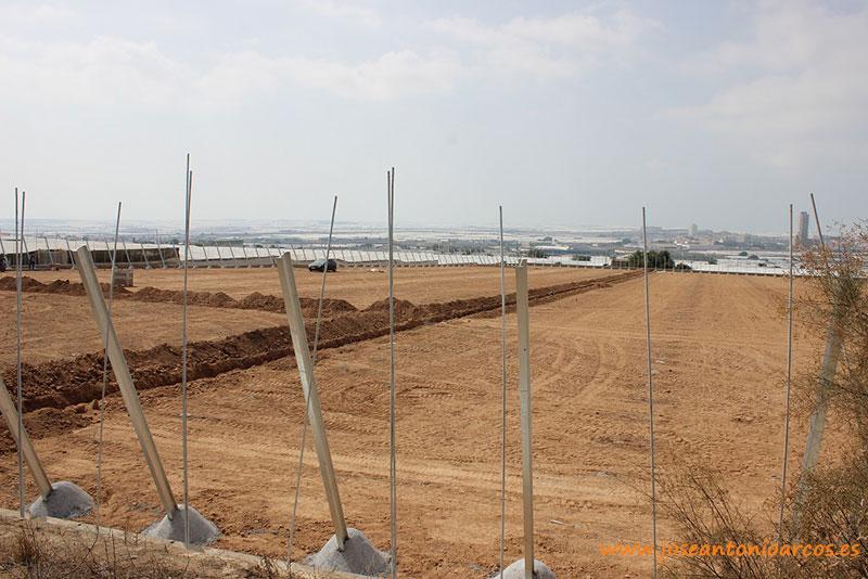 Construcción de una finca en Fuente Nueva (El Ejido, Almería).