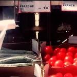 En París tomate francés y pepino español