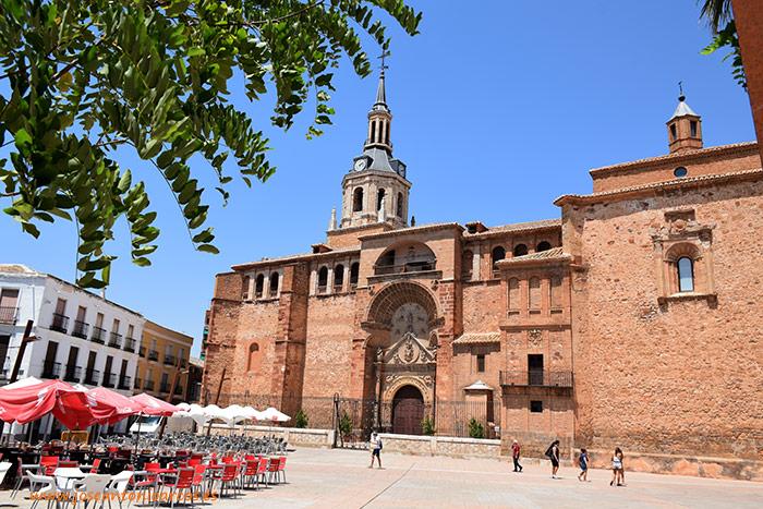 Plaza del ayuntamiento de Manzanares, Ciudad Real, Castilla-La Mancha.