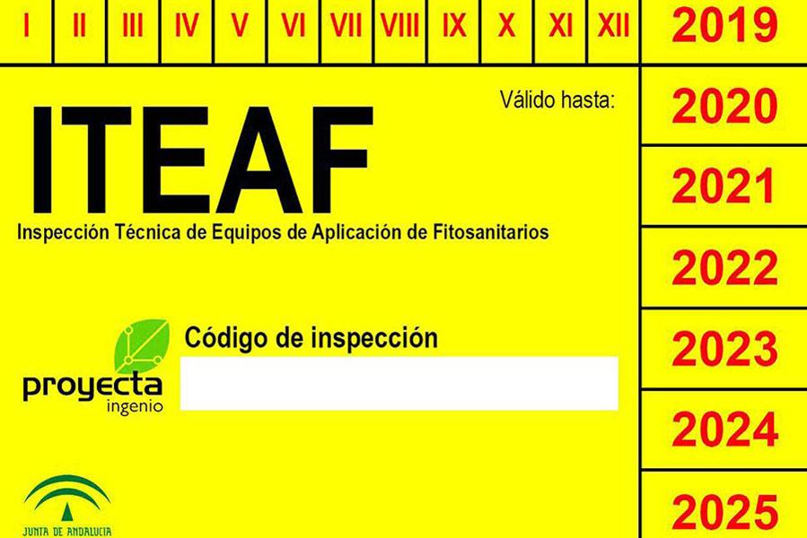 Proyecta Ingenio es homologada para inspección de equipos fitosanitarios