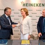 Heineken e Ifapa unirán la cerveza y el olivar