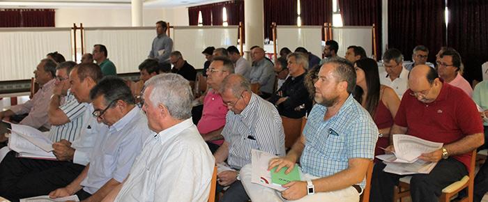 Asamblea de Coexphal en El Edén de El Ejido, Almería. Septiembre 2016