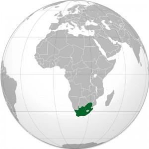 Mapamundi Sudáfrica