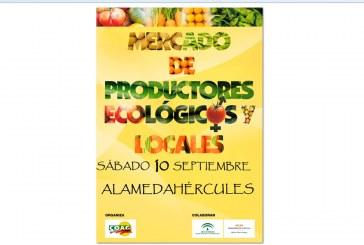 Día 10 de septiembre. Mercado de productos ecológicos y locales. Sevilla