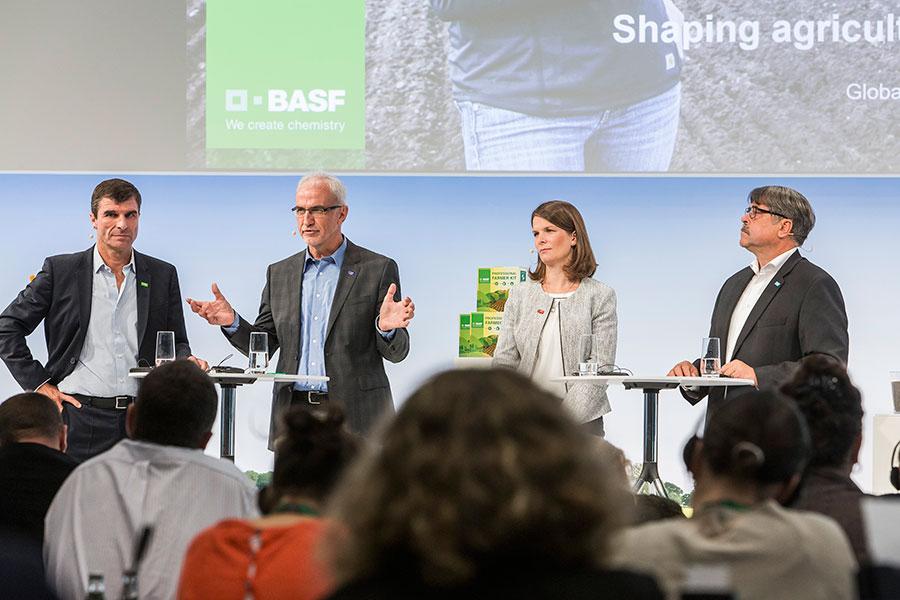 División de Protección de Cultivos de BASF en Alemania, multinacional de agroquímicos
