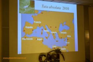 Mapa de la plaga de la Tuta Absoluta o polilla del tomate.