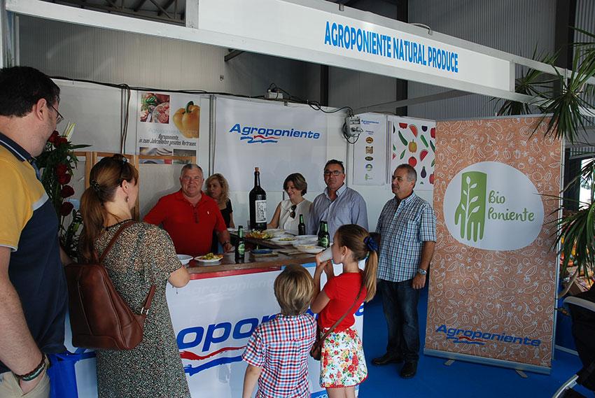 El 'bio' de Agroponiente en Expo Berja