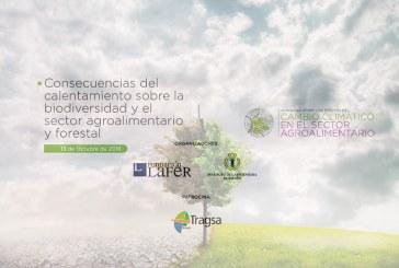Día 13 de octubre. Jornada sobre los efectos del 'Cambio climático en el sector agroalimentario'