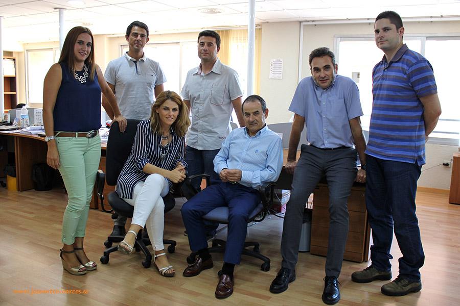 Miembros de la firma AMB-Abante, organizadora de este Congreso de carácter nacional.