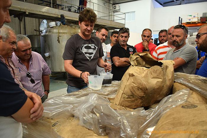Fábrica de Vellsam en Tabernas, Almería. Fabricación de fertilizantes para la agricultura.