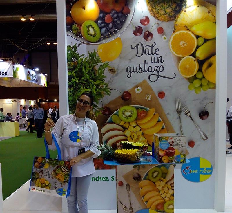 Frutas E. Sánchez afianza su marca de fruta 'premium'