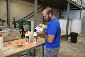 Fábrica de fertilizantes de Novasys Pharma en Benahadux, Almería.