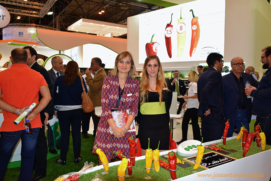 RZ en Madrid, Fruit Attraction 2016.