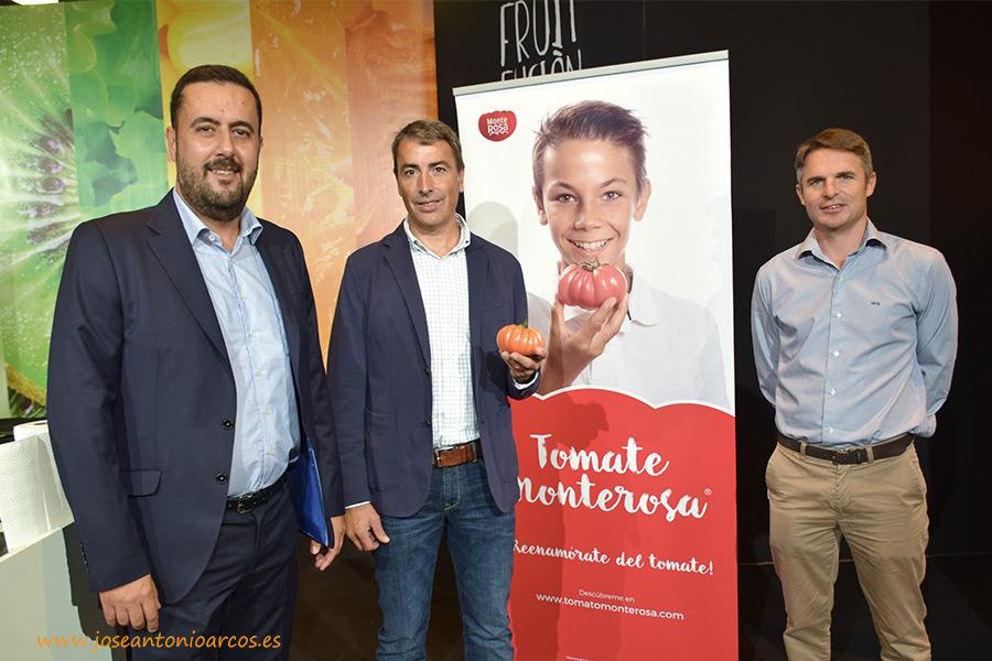 El triángulo de sabor del tomate Monterosa: Almería, Gavà Grup y Fitó