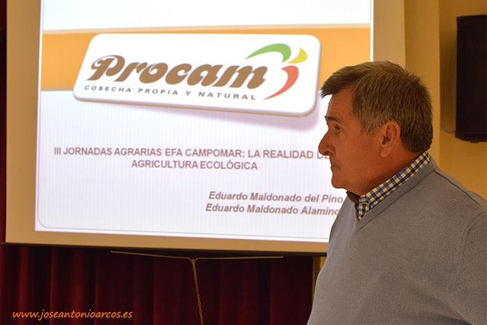 Procam, jornadas de agricultura ecológica celebradas en Campomar