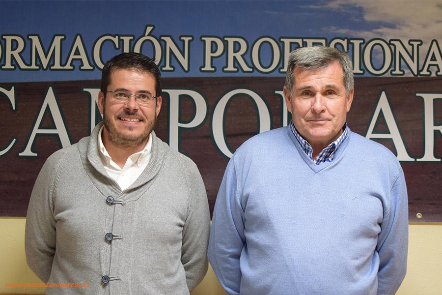 Eduardo Maldonado, padre e hijo, responsables de la empresa Procam, en Motril (Granada).