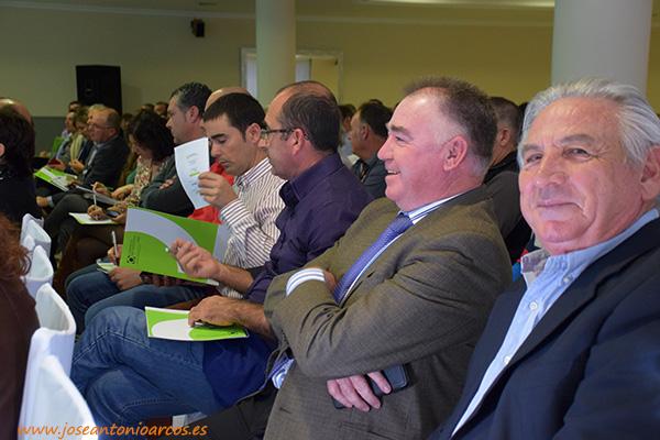 José Martínez Portero, presidente de Única Group, en la jornada técnica 2016 de Cooperativas Agro-alimentarias en Almería, El Ejido.