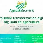 Día 29 de noviembre. I Foro sobre transformación digital y Big Data en agricultura